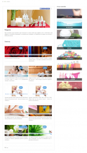 eCommerce front end